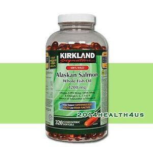 Kirkland signature 100 wild alaskan salmon oil 1200 mg for Kirkland fish oil review