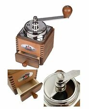 Zassenhaus Montevideo Coffee Grinder Mill, Walnut / Pear wood Made in Germany