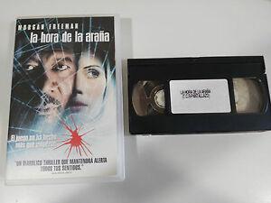 DIE-ZEIT-VON-DER-SPIDER-KASSETTE-TAPE-VHS-KOLLEKTOR-MORGAN-FREEMAN-PROMOTION