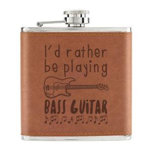 I-039-D-Rather-Etre-Playing-Bass-Guitare-170ml-Cuir-PU-Hip-Flasque-Fauve-Pupitre