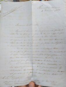 1867-105-AMSTERDAM-LETTERA-A-MINISTRO-ITALIANO-SU-SCOPERTA-SCIENTIFICA-HOLTZMAN