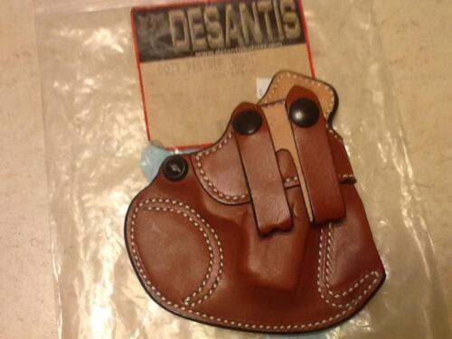 Desantis Holster inside pants Right Hand Kahr 380 Brown Leather