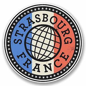 Stickers 2 x 10cm Lyon France Vinyl Sticker Laptop Travel Luggage Label Tag French #9850