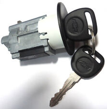 703602 GM OEM Ignition Lock Cylinder Passlock Chip & Keys (Fixes Security Light)