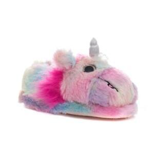 Kids Unicorn Slippers Multi Coloured