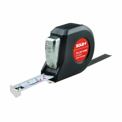 Talmeter TAL 3 m 16 mm Sola Rollmeter