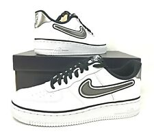 315122-008 OAKLAND RAIDERS,SPURS jordan 3 NIKE AIR FORCE 1 LOW SILVER//BLACK AF1