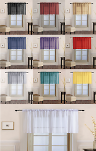 1-Piece-Sheer-Voile-Rod-Pocket-Multi-Use-Straight-Window-Curtain-Valance-Topper