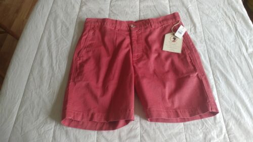 32 WAIST BRICK RED 1 NEW WITH TAGS DUCK HEAD O/'BRYAN STYLE SHORTS