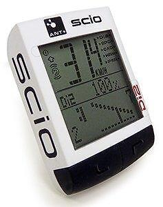 Pro-SCIO-ANT-Shimano-Di2-Compatible-Cycle-Computer-Speed-Bicycle-Bike-WHITE