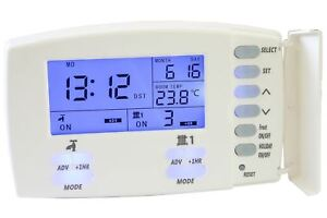 Central Heating Timer >> Tower Pr2 2 Two Channel 24hr 7 Day Programmer Switch Central