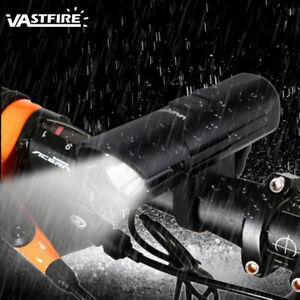 Super Bright MTB Bike Cycling Front Light USB Rechargeable T6 LED Waterproof  EN