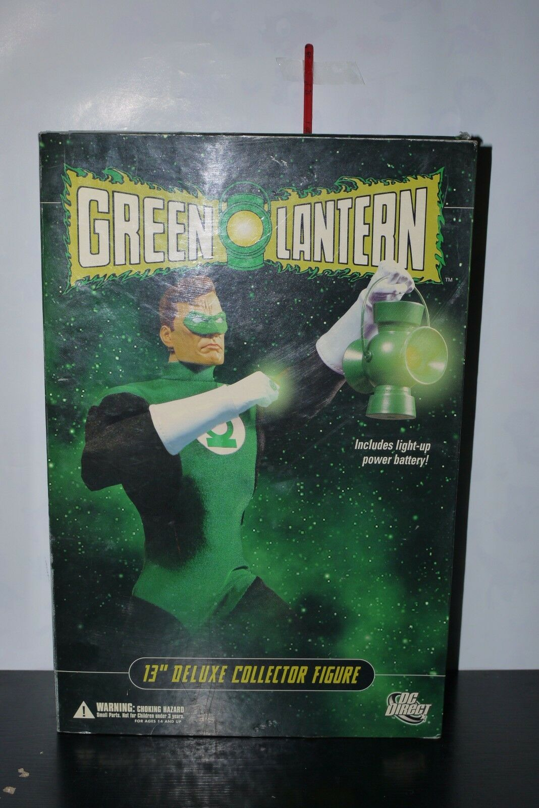 DC DIRECT GREEN LANTERN 13  DELUXE DELUXE DELUXE COLLECTOR FIGURE 1 6 SCALE HAL JORDAN BOXED 539820