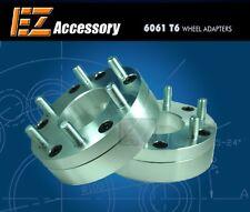 "2 Wheel Adapters 8 Lug 6.5 To 6 Lug 5.5 Spacers 8x6.5/6x5.5 2"""