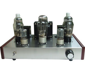 Details about DIY kit FU-25+ 6N8P Class A vacuum tube amplifier kit tube  AMP 10W+10W