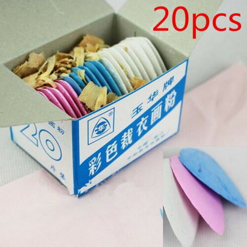 20x Assorted Tailor/'s Fabric Chalk Dressmaker/'s Pattern Marking Sewing Gallant