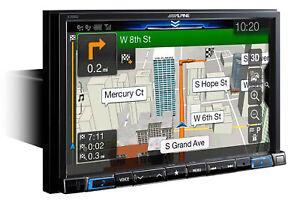 "Alpine X308U 8"" In-Dash Bluetooth CarPlay Android Navigation GPS Car Receiver"