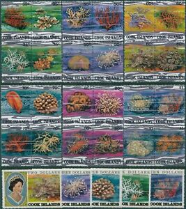 Cook-Islands-1980-SG761-789-Corals-35c-to-10-MNH