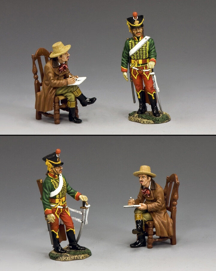 KING AND COUNTRY NAPOLEONIC NAPOLEONIC The Artist & The Hussar NA305