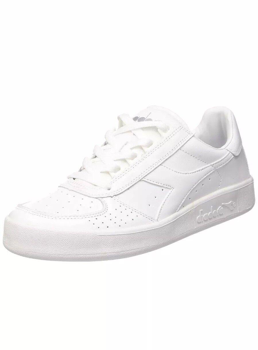 Diadora B. Elite Unisex Adults Low-Top Sneaker (C4701) White UK 10 EU 44.5