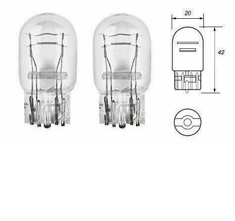 580 12v 21//5w Stop//Tail Light Bulbs x 2 Fit Nissan Cube Juke X-Trail