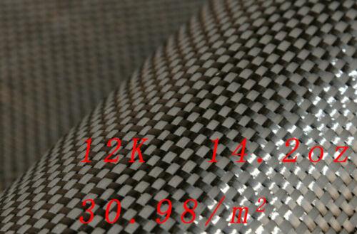 """Carbon Fiber Fabric 4x4 Twill 3k 281.42gsm//8.3oz  60/"""" Toray T-300"""
