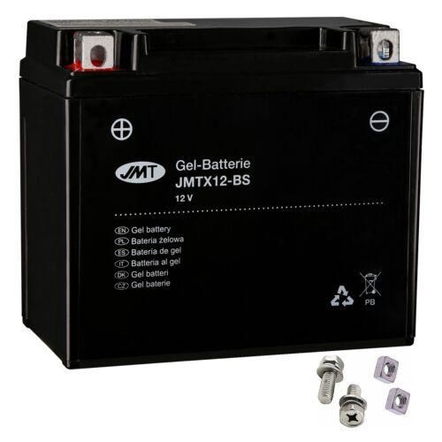 ABS ASR Baujahr 2017 von JMT YTX12-BS Gel-Batterie für Vespa GTS 300 i.e