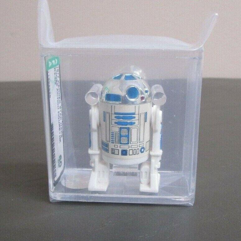 R2-D2 1977 STAR WARS Graded AFA 80 NM HK Coo JJ New Case  4
