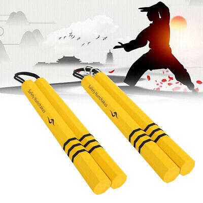 EVA Foam Nunchucks Martial Arts Nunchaku Bruce Lee Kung Fu Karate Training Stick