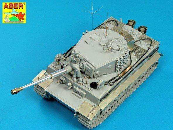 1 35 ABER 35 K10 German Heavy Tank Pz. VI Tiger I Ausf.E (Sd.Kfz. 181) - Late