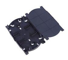 1PCS NEW 12 Cores Fiber Optic Splice Tray Fiber Optic Terminal Box  CA NEW