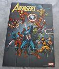 Avengers 2005 Spider-man Woman Thor Iron Man Wolverine Hulk PROMO Poster FNVF