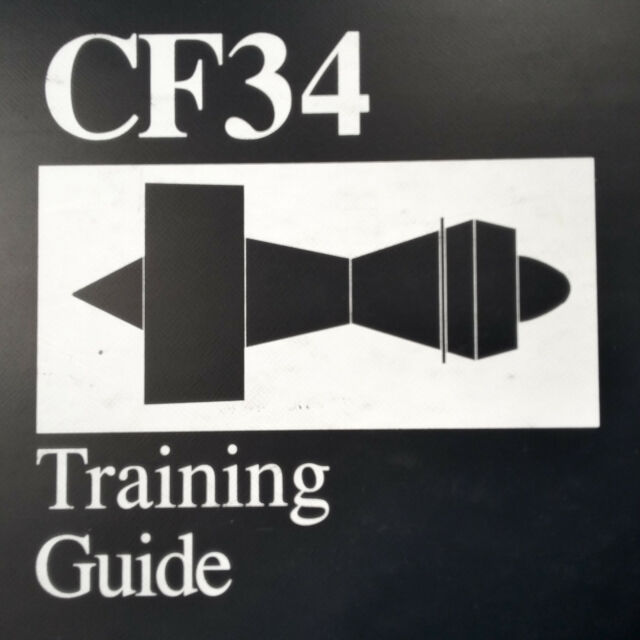 Ge General Electric Cf34 Engine Training Manual Ebay. Ge General Electric Cf34 Engine Training Manual. Wiring. Cf34 Engine Schematic At Scoala.co