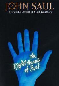 Saul-John-THE-RIGHT-HAND-OF-EVIL-US-HCDJ-1st-1st-VG