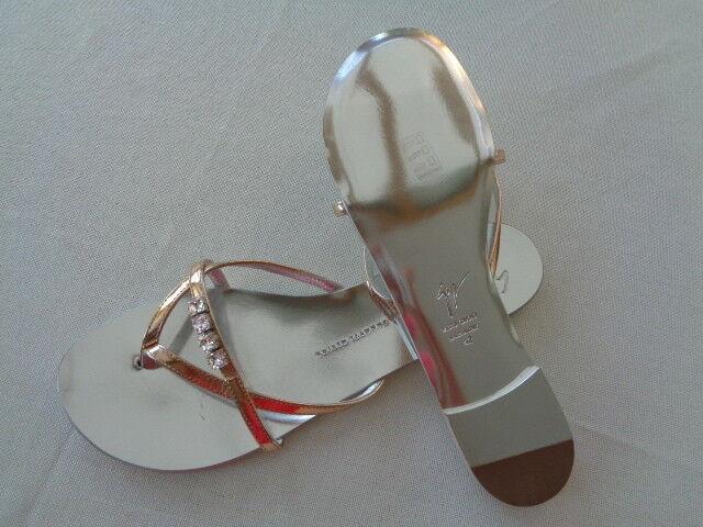 Neu GIUSEPPE ZANOTTI Damen Schuhe, 41, Sandalen, Farbe: Gold, EUR 41, Schuhe, NP: 550,-€ 217163