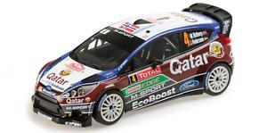 01:18 Ford Fiesta Ostberg Monte Carlo 2013 1/18 • Minichamps 151130804