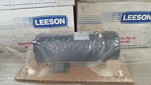 Leeson Dc Electric Motor 3 Hp 1750 Rpm 48 Vdc Model