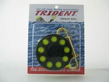 Finger Spool Reel with 45 foot line and brass clip for Scuba Diving, SMB
