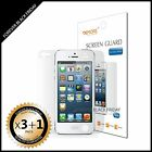 iPhone 5 Screen Protector Anti-Glare Matte 3x Front + 1x Back Cover Guard Shield