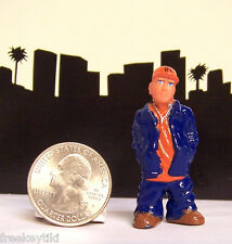 1- RARE Lil Homies Series # 5 AWB Angry White Boy Vato Diorama Figurine Figure