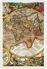 Old World Map Internet Website Password Logbook Username Address Organizer Book