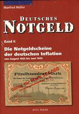 6014: Deutsches Notgeld, Band 4, Die Notgeldscheine der dt. Inflation, M. Müller