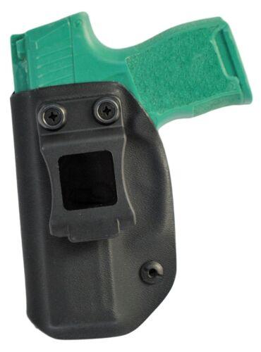 Black Jacket Holster Sig Sauer P365 Inside Waistband IWB Gun Holster EDC