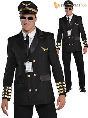 Size 48 7 available Fancy Dress Men's Pilot Jacket
