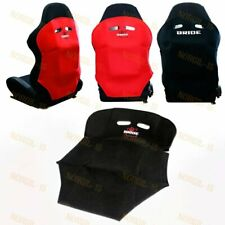 1pcs Black Racing Seat Protector Cover Cotton Seat Dust Boot Jdm Bride Racing