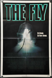 THE-FLY-1986-JEFF-GOLDBLUM-GEENA-DAVIS-JOHN-GETZ-ORIGINAL-1-SHEET-MOVIE-POSTER
