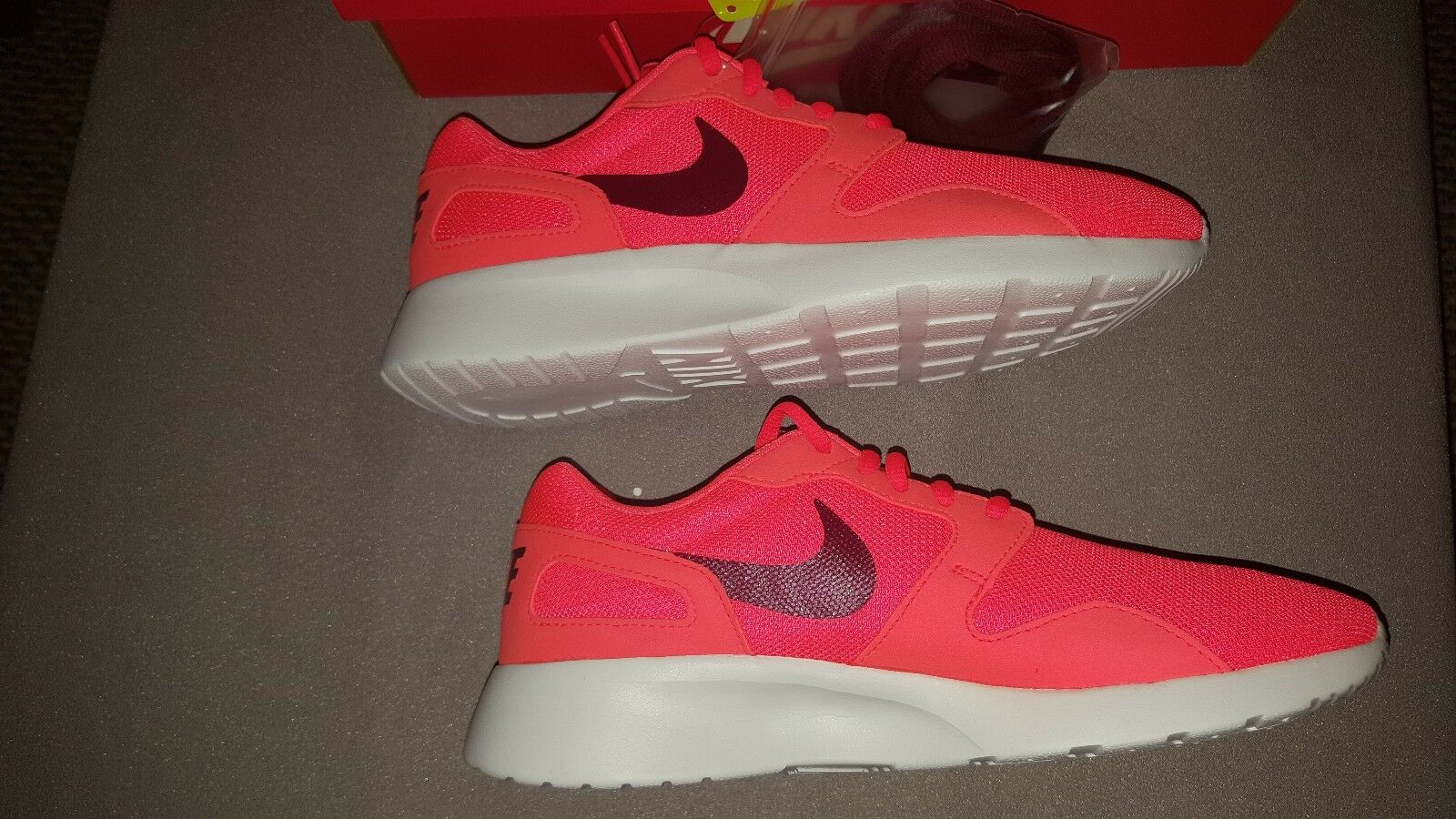 NIKE KAISHI CRIMSON GARNET WHITE 654845 661 WOMENS US 8.5 8.5 8.5  NEW IN BOX ea221f