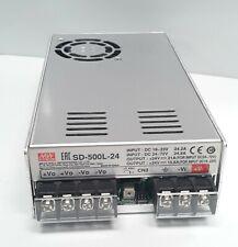 Mean Well Sd 500l 24 Dc Dc Converter 24v 21a 19 72v