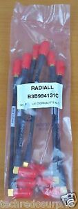 """Pack of (6) Radiall SMA 6"""" Right Angle B3B994131C 994131C 4205 54342 Style 1375"""