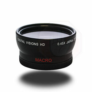 58mm 45x Wide-Angle Digital High Definition Lens with Macro